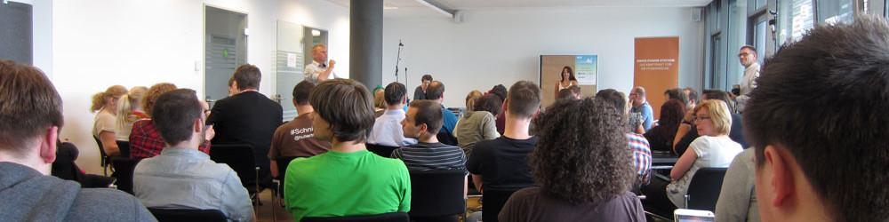 Schlusssession beim Tweetcamp, BloggerBrunch