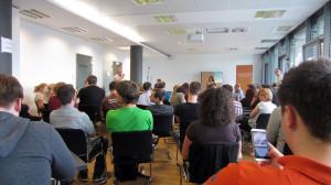 Schlusssession beim Tweetcamp