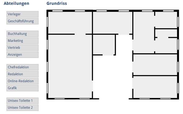 Bloggerbrunch: Umzug im Verlagshaus. Funktioniert auf Basis nativen HTML5 Drag and Drop.